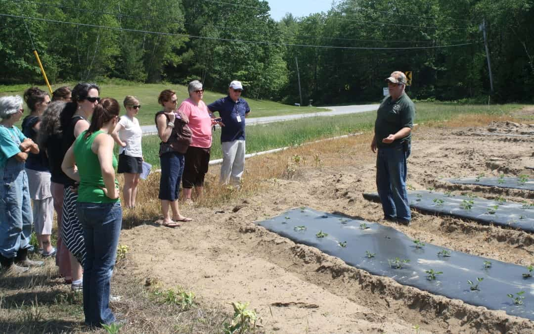 Council Tours R. Belanger & Son's Farm in Lewiston