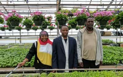 Food Charter Anniversary Celebrated at Whiting Farm