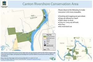 Canton Rivershore map