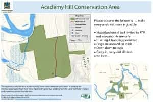 Academy Hill CA map