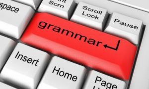 Grammar button on keyboard_s