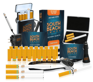DELUXE Ultimate E-Cigarette Starter Kit from South Beach Smoke