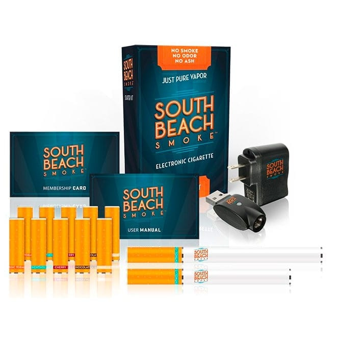Deluxe Electronic Cigarette Starter Kit from South Beach Smoke