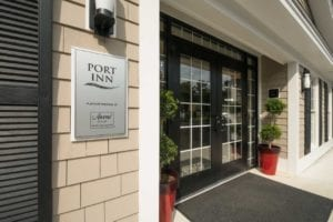 Port Inn Exterior Entrance