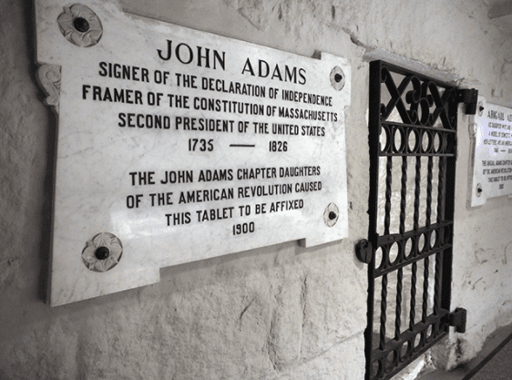Adams Crypt at United First Parish Church