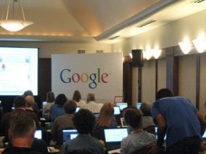 Maine small business owners gather to learn more from Google about boosting their online presence.