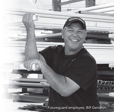 Bill Gendron from Futureguard Building Products Auburn Maine