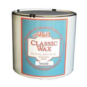 Classic Wax Trade Tin (Terra Cotta Color)