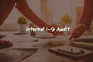 Internal I-9 Audit