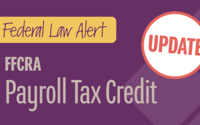 FFCRA Payroll Tax Credit – Easing the Burden for Employers